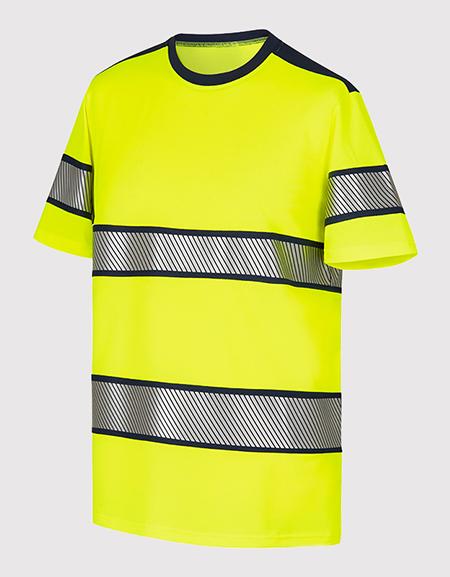 Tee-shirt manches courtes col rond HV
